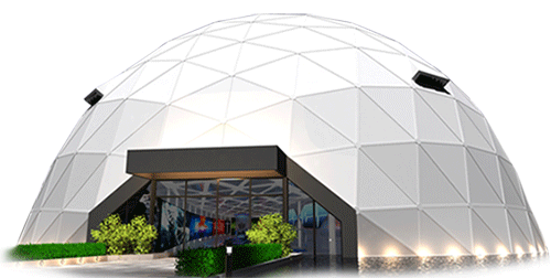 Tech Dome Penang, Penang's 1st Science Discovery Centre at KOMTAR, Geodesic Dome