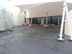 The Sail, a large outdoor space at Tech Dome Penang